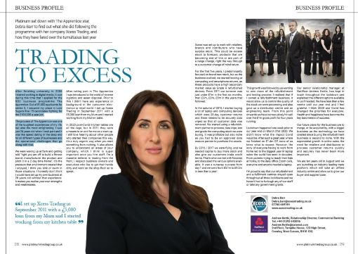 Trading to Excess, the magazine article